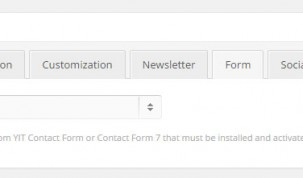 """section """"Form"""" - Popup settings"""