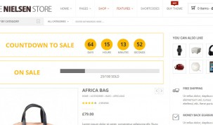 Countdown/Sale bar - Style 3