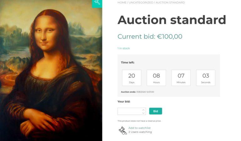 Standard auction