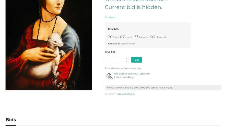 Sealed auction
