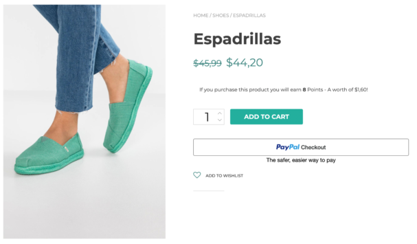 Product page checkout - add an optional payment button to your product page