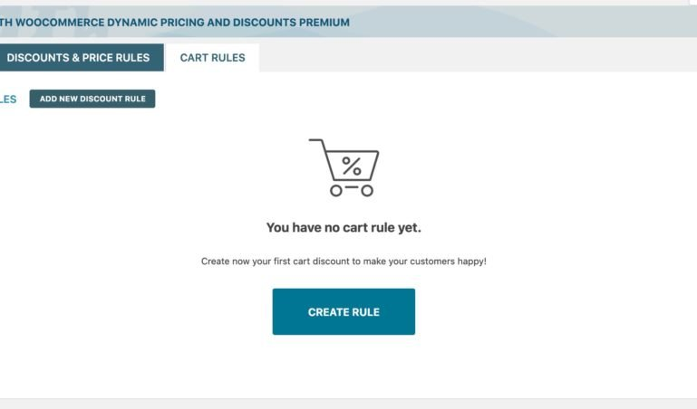 Cart discount rules