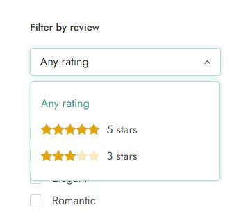 Filter by review