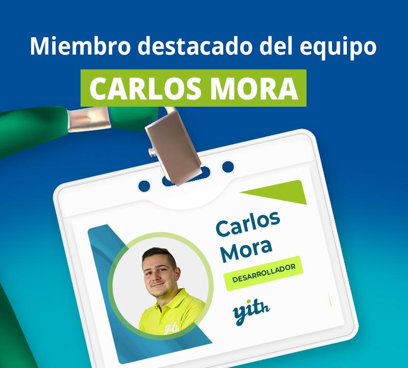 Miembro destacado: Carlos Mora