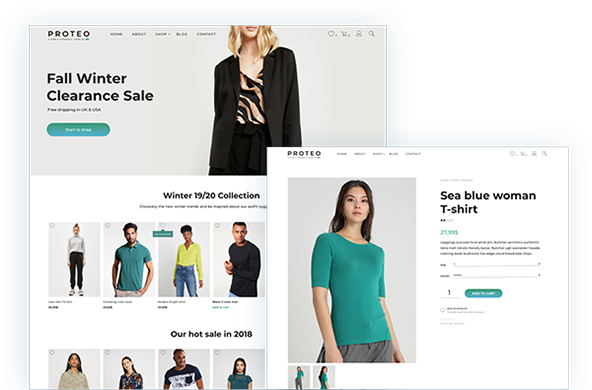 Proteo - E-Commerce theme