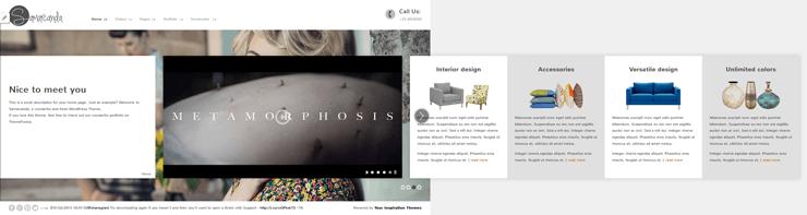 Samarcanda Free WordPress Templates - 01