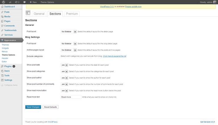 Samarcanda Free WordPress Templates - 04