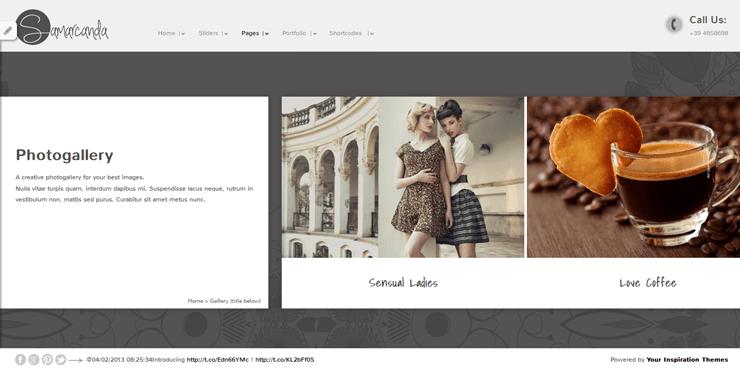 Samarcanda Free WordPress Templates - 29