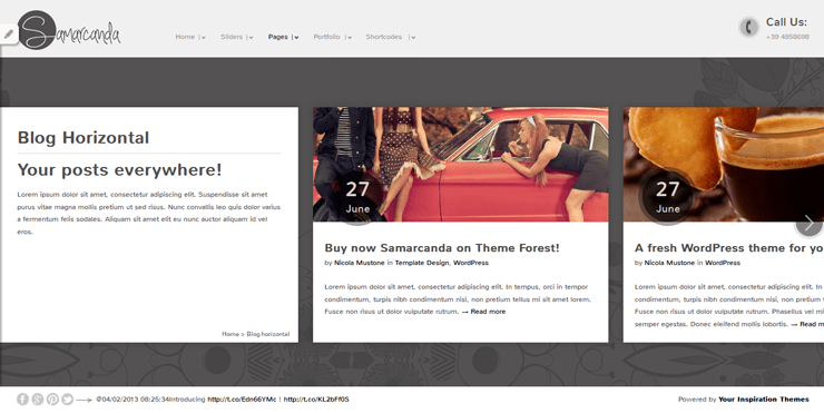 Samarcanda Free WordPress Templates - 32
