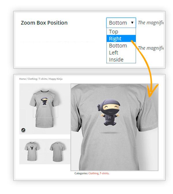 Box position