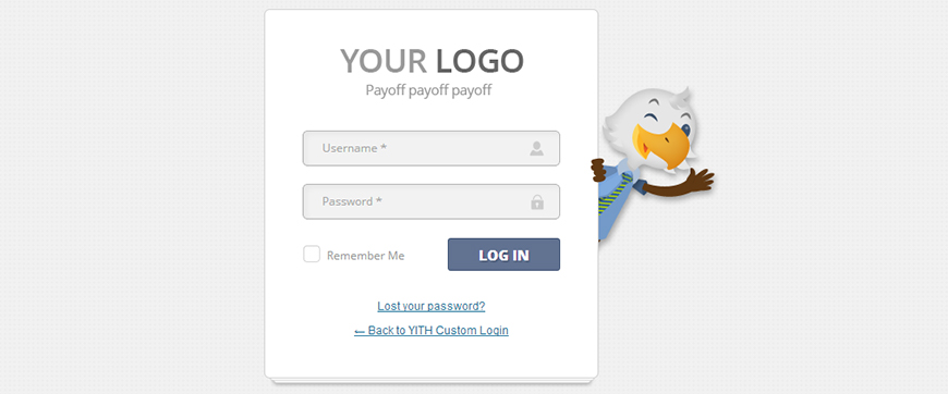 How To Customize The Wordpress Logo Yith Custom Login