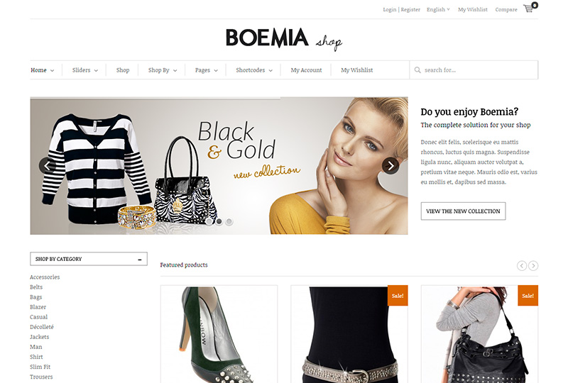 Woocommerce, Website Templates from ThemeForest download