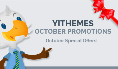 YIThemes October Promotions