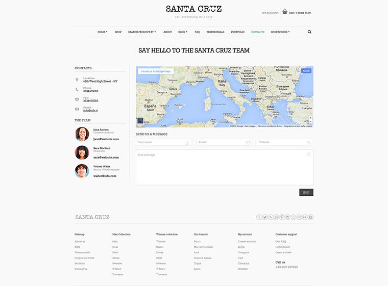 Santa Cruz Contact