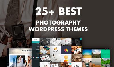 25+ Best WordPress Photography Themes