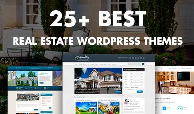 25+ Best  Real Estate WordPress Themes