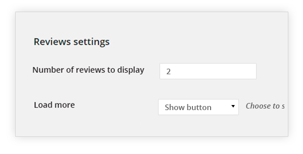 Review Settings