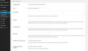 eCheck payment gateway settings
