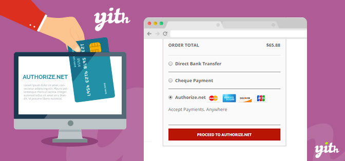 YITH Woocommerce Authorize.net Payment Gateway