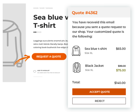 YITH WooCommerce Request a Quote Premium 3.1.1