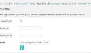 Foursquare Settings