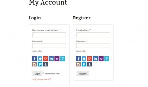 My Account page