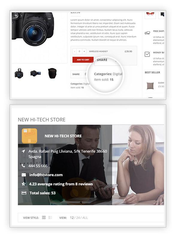 Sales number