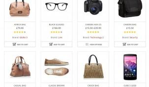 """Shop"" page"