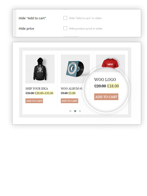 Hide price and add to cart button options
