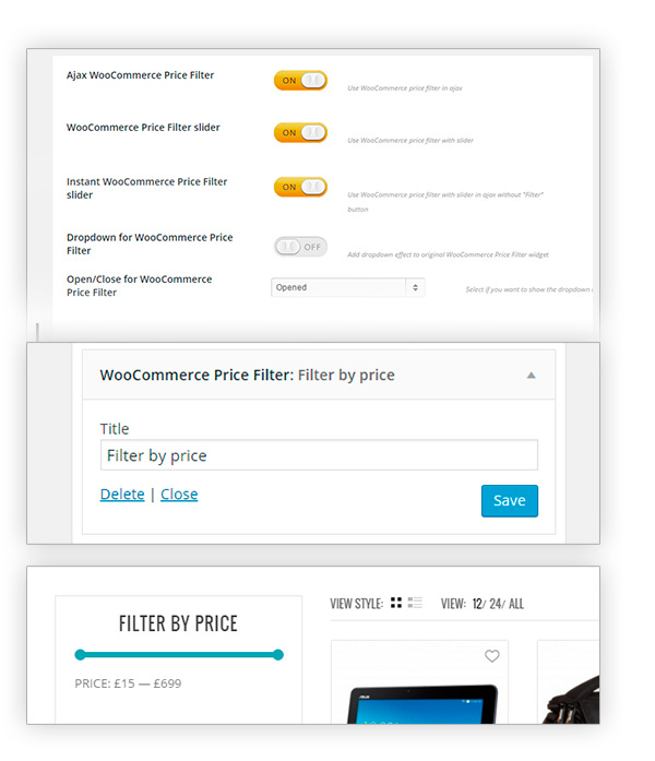 WooCommerce Price Filter