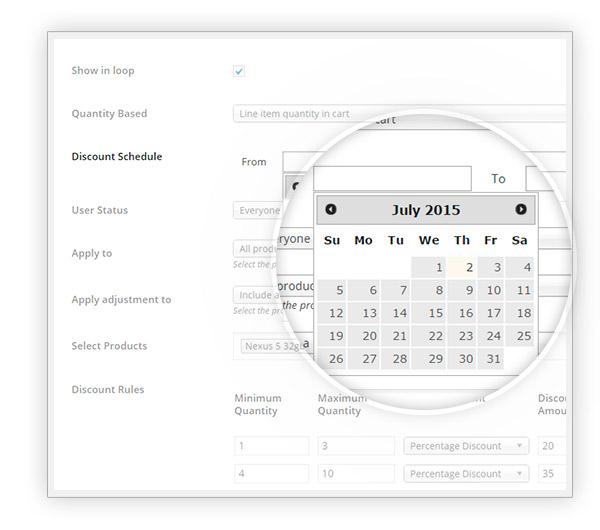 Schedulate date