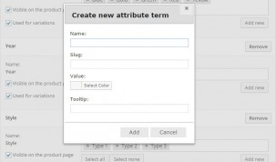 "Color"" attribute - New attribute term"