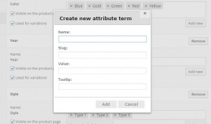 """Label"" attribute - New attribute term"