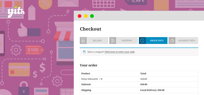 YITH WooCommerce Multi-step Checkout<span class=