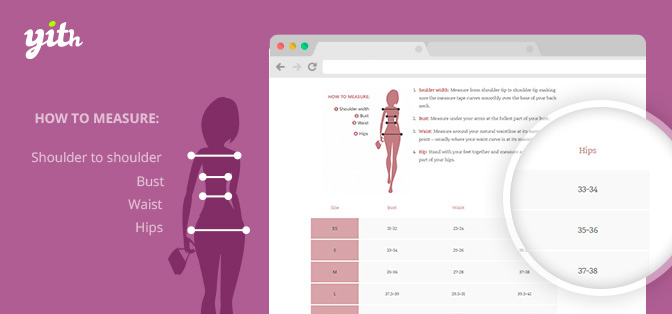 Product Size Charts For Woocommerce