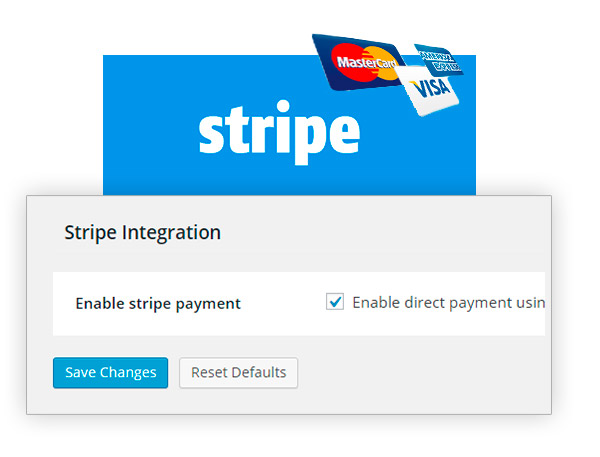 Integration with Stripe