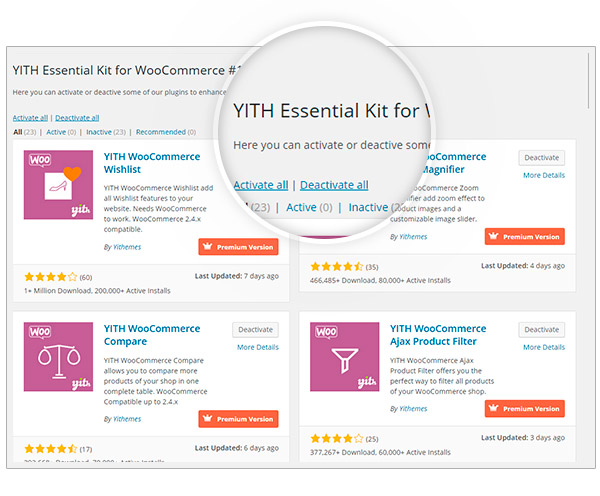 YITH Essential Kit for WooCommerce