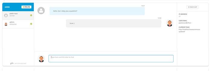 Live-chat-conversations