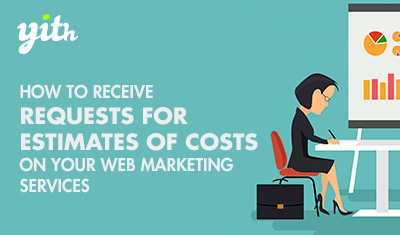 How to receive requests for estimates of costs on your web marketing services