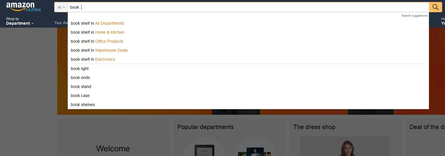 Search-bar-amazon