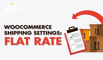 WooCommerce Shipping Settings: Flat Rate