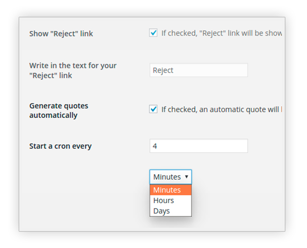 Generate quotes automatically