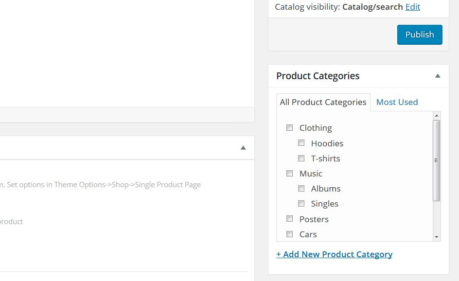 WooCommerce: How to set up product tags and categories
