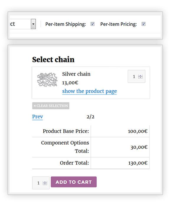Product price