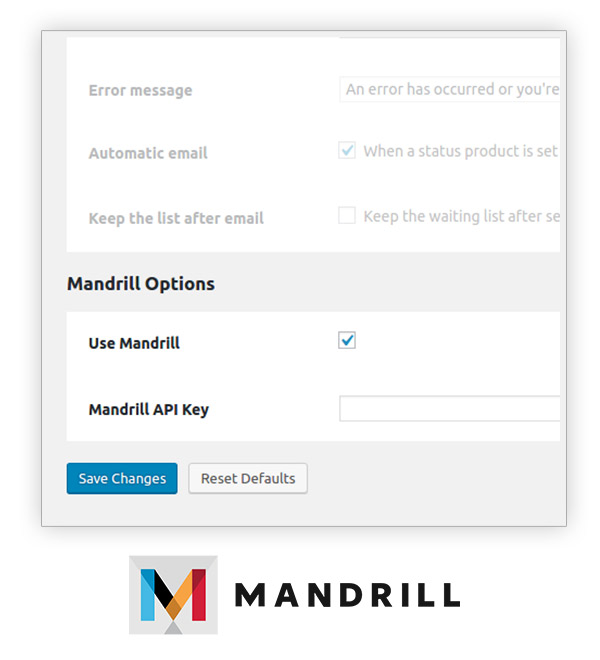 Mandrill integration