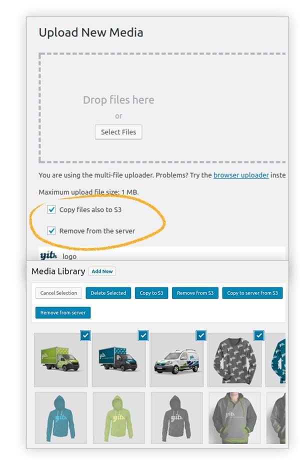 Add new media to s3 Amazon