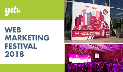 What a beautiful experience at Web Marketing Festival 2018!