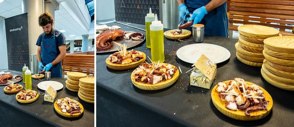 WC Pontevedra food