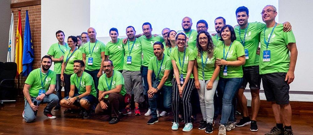 WC Pontevedra volunteers
