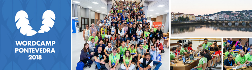 WordCamp Pontevedra 2018